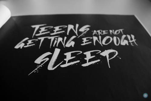 """""""Teens Are Not Getting Enough Sleep"""""""