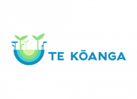 Te Kōanga programme logo - seeds sprouting in spring