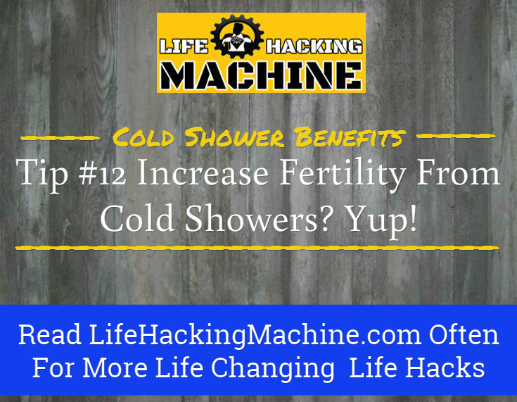 benefits of cold showers, cold shower benefits, lifehackingmachine.com, life hacking blog