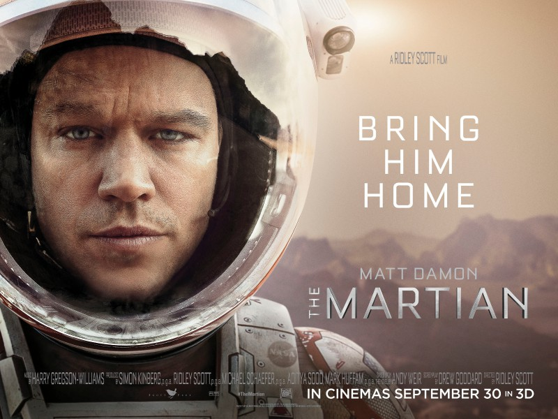 THE MARTIAN movie poster | ©2015 20th Century Fox