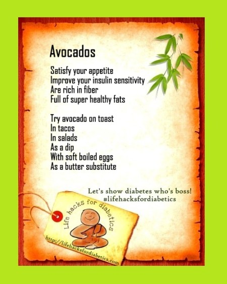 lifehacksfordiabetics avocado