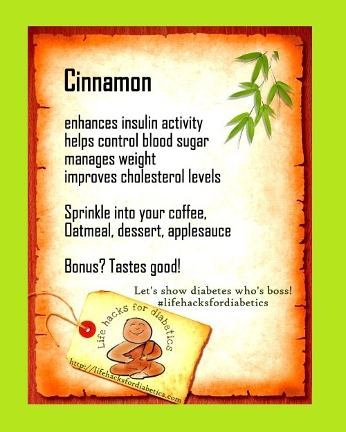 cinnamon lifehacksfordiabetics