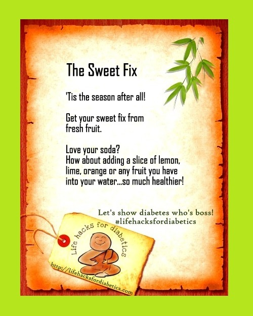 lifehacksfordiabetics the sweet fix