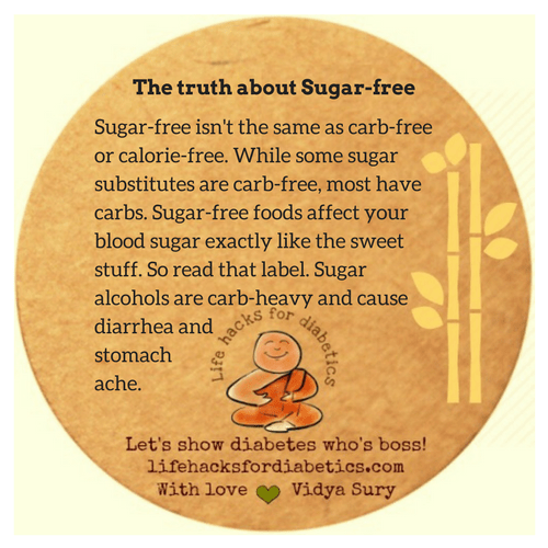 The truth about Sugar-free