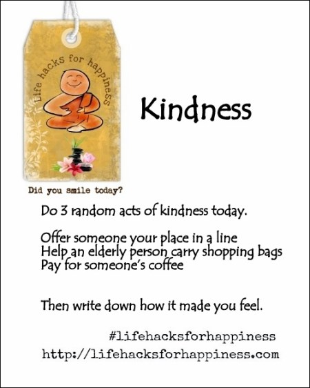 kindness lifehacksforhappiness
