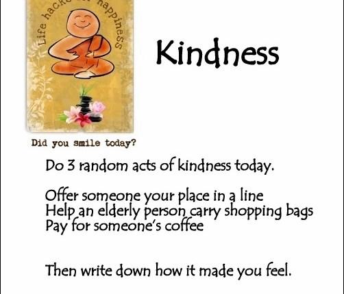 kindness lifehacksforhappiness