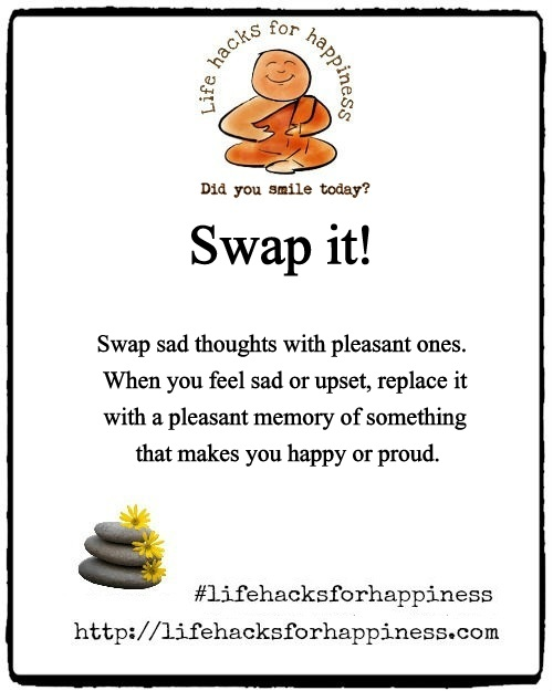 swap it lifehacksforhappiness