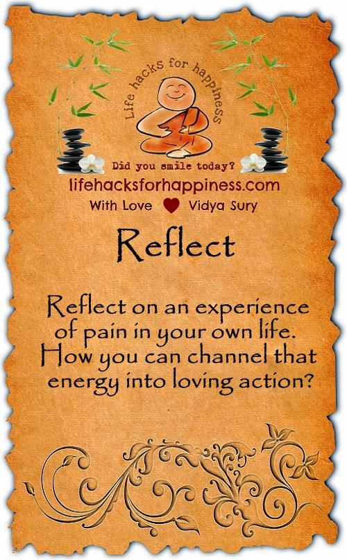 Reflect Vidya Sury