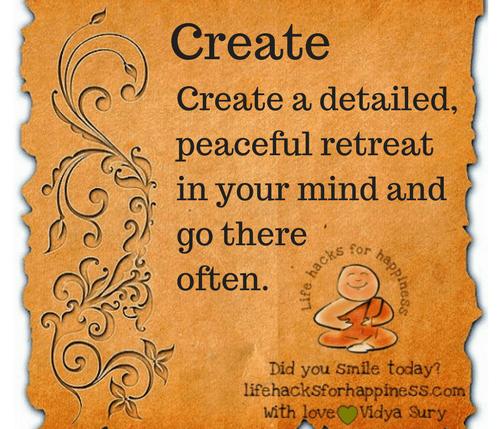 Create your space Vidya Sury