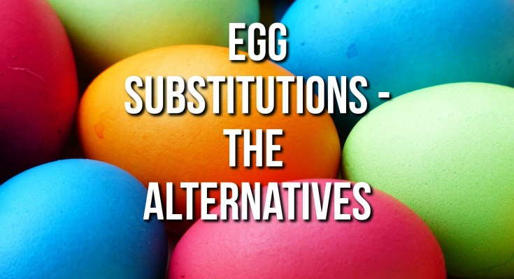 Egg Substitutions Featured