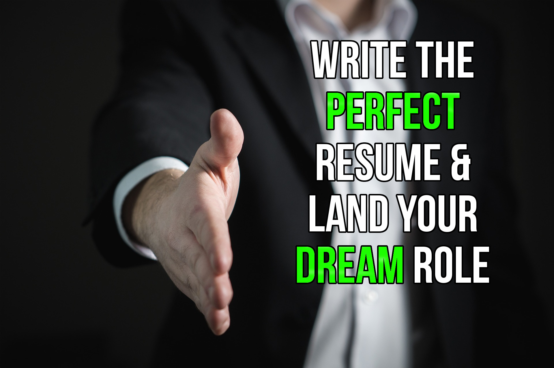 create a perfect resumes