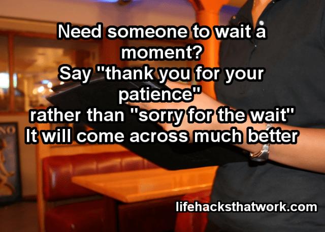 Social Hacks - Wait Please