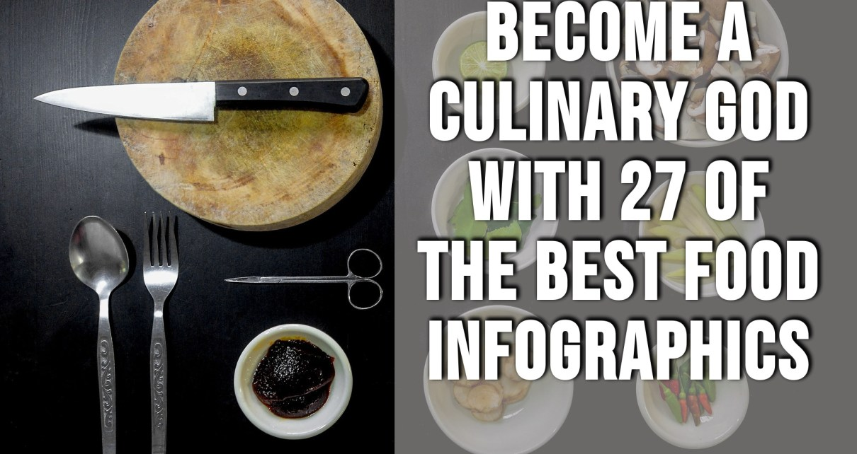 food infographics to get you cooking