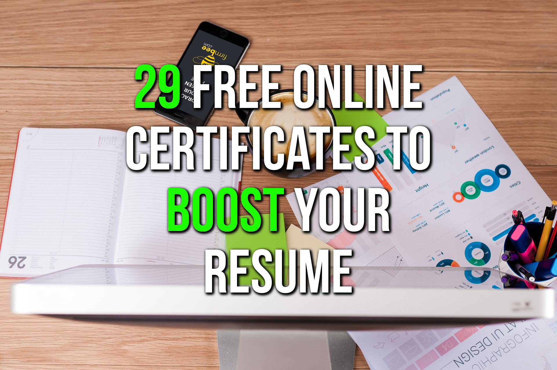 Free Online Courses With Certificates - CV Building - Life Hacks