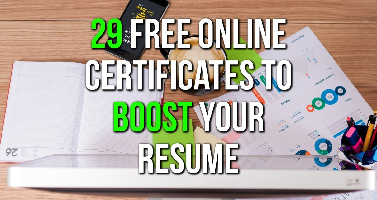 Free Online Courses With Certificates - Featured