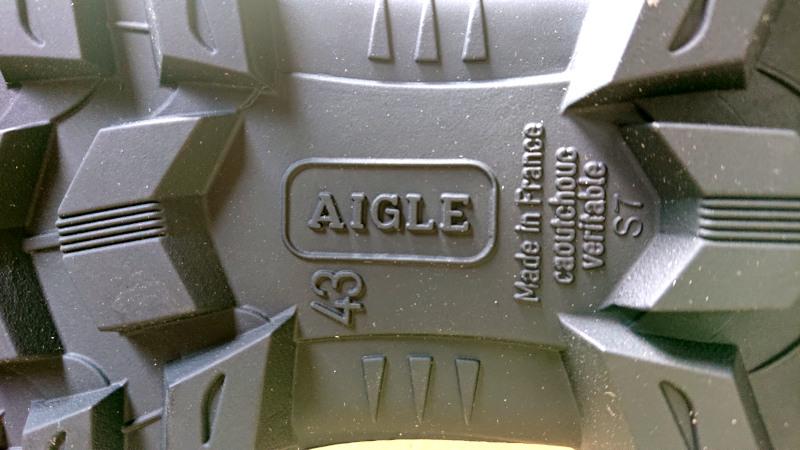 ブーツのサイズ表記