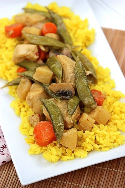 Hawaiian Style Green Curry Chicken