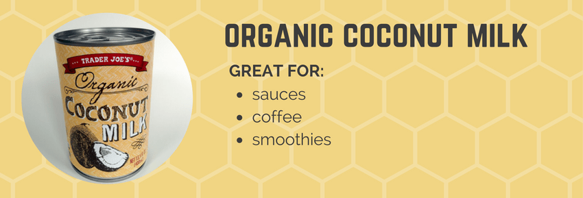 organic coconut milk tj
