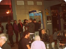 The long ass queue for the ATM....cocktail specials get you hooked!