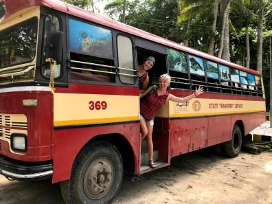 Autobus publiczny, Andamany, Indie