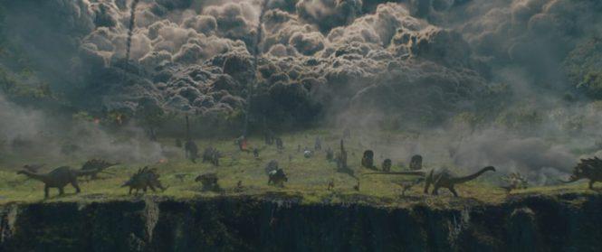 Jurassic World Volcano Explosion