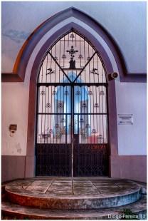 Chapel on haunted hill door