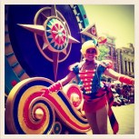 fun parade in HK Disneyland