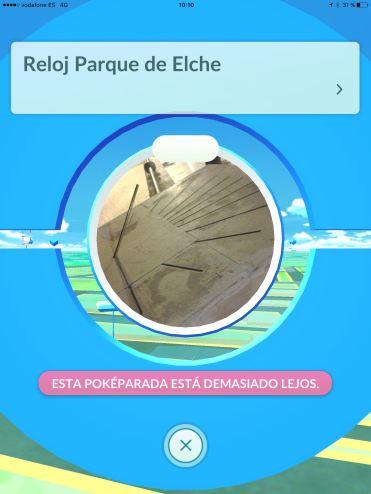 Pokeparada Reloj Parque de Elche #BenidormPokemonGo