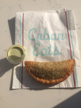Spinach and Cheese Empanada