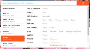 Europos šalių sąrašas