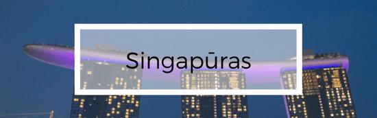 Aplankytos salys - Singapuras