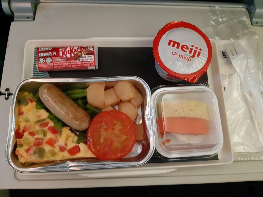Maistas Lenkijos oro linijose