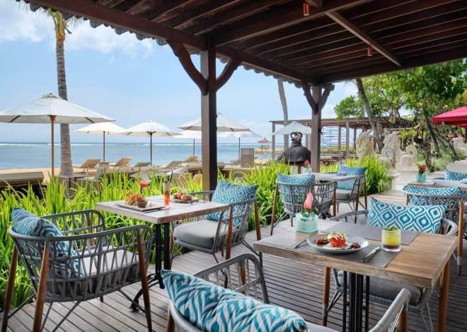 Griya Santrian a Beach Resort pusryčių vieta