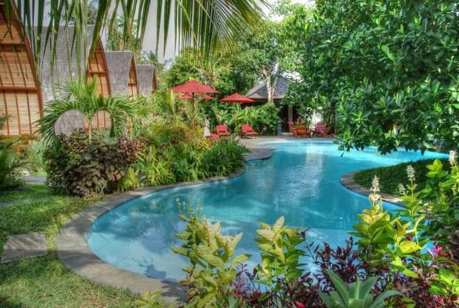 Klumpu resort Bali baseinas