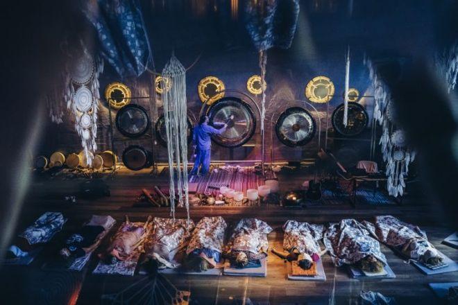 Balio sala Lietuvoje - gongų terapija