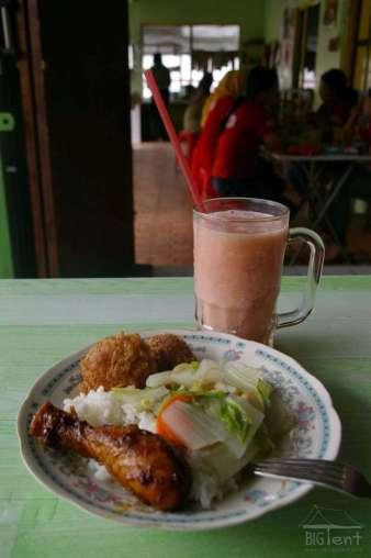Warung makan - what can you do with 1 euro