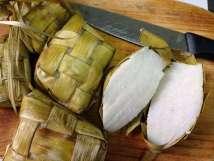 Cutted ketupat