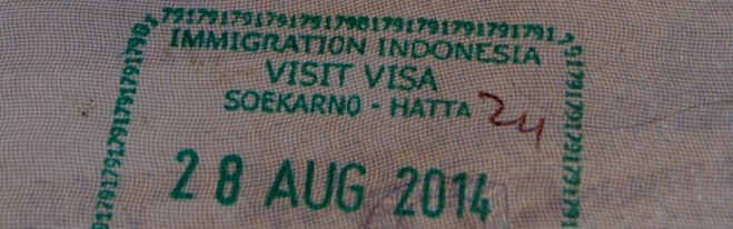 Visas for Indonesia