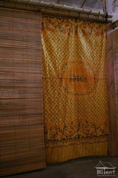 Curtains for entrance