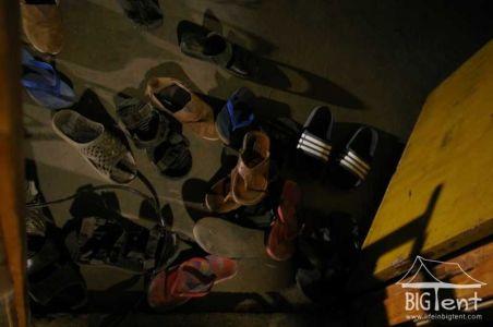Shoes outside