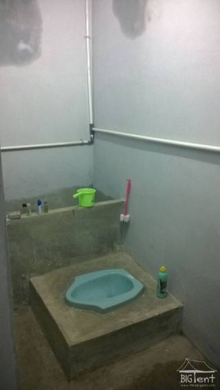 Bathroom in Indonesia