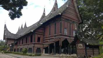 Customary house of Minangkabau