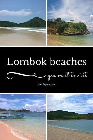 Lombok beaches pinterest