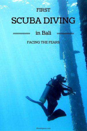 Diving in Bali - pinterest