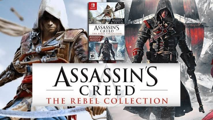 ASSASSIN'S CREED THE REBEL COLLECTION AHORA DISPONIBLE PARA NINTENDO SWITCH