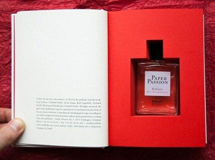 Духи с запахом книги