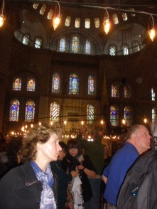 Life In Camelot in the Blue Mosque, Istanbul, Turkey
