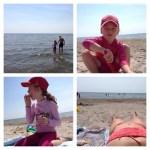 Äntligen stranden