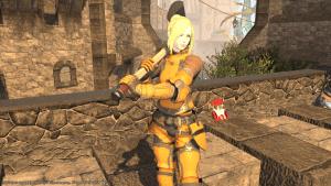 Pretty Orange Armour!