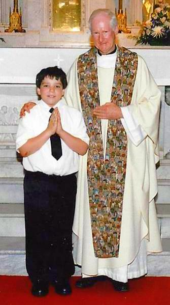 Teddy's First Communion